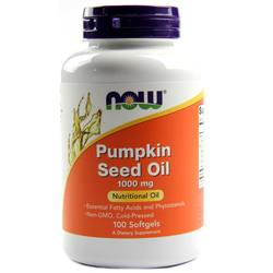 Now Foods Pumpkin Oil 1000 mg