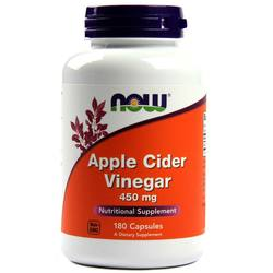 Now Foods Apple Cider Vinegar 450 mg
