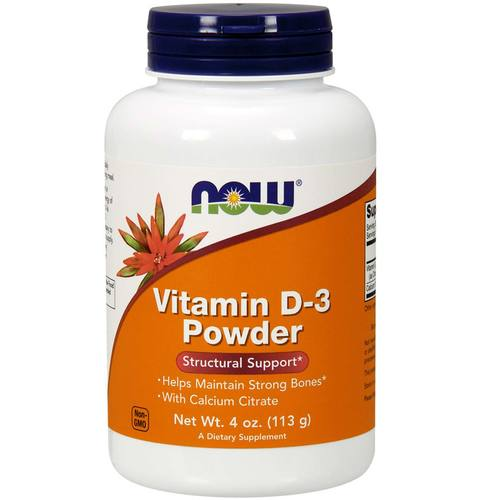 Now Foods Vitamin D-3  - 4 oz Powder - 275781_1.jpg