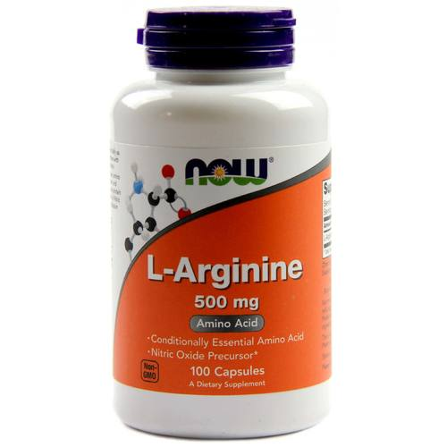 Now Foods, L-Arginina 500 mg - 100 Cápsulas - 287_1.jpg