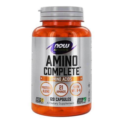 Now Foods Amino Complete  - 120 Capsules - 290_front2020.jpg
