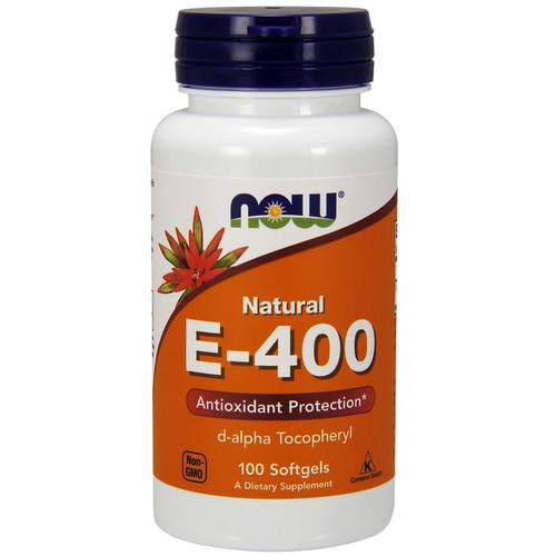 Now Foods Vitamin E d-alpha  - 400 IU - 100 Softgels