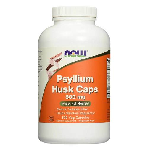 Now Foods Psyllium Husk 500 mg - 500 Caps - 33799_front.jpg