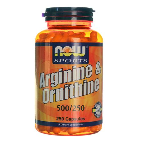 Arginine and Ornithine 500/250 mg