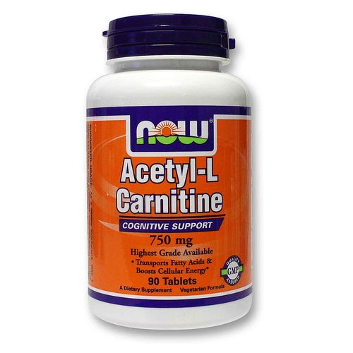 Now Foods Acetyl-L-Carnitine  - 90 Tablets - 20120302_131.jpg