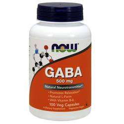 Now Foods GABA and B-6
