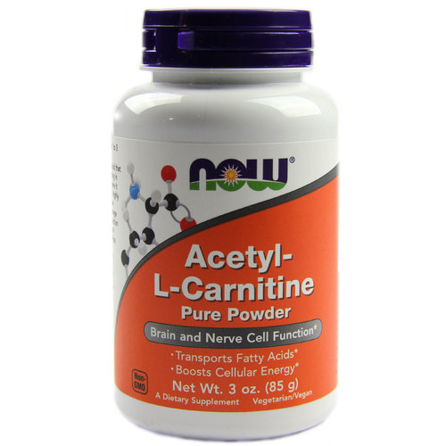 Now Foods Acetyl-L-Carnitine  - 3 oz Powder - 33930_1.jpg