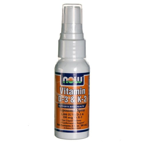 Vitamin D-3 and K-2 Liposomal Spray