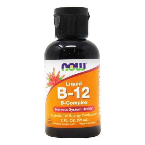 Now Foods Liquid B12 B-Complex - 2 fl oz (59 ml) - 33968_front2020.jpg
