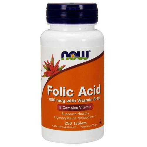 Folic Acid 800 mcg with Vitamin B12