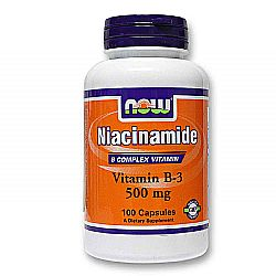Now Foods Niacinamide 500 mg