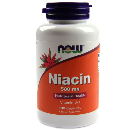 500mg of niacin a day