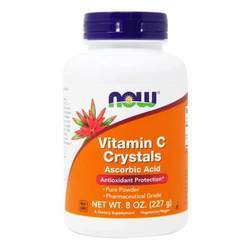 Now Foods Vitamin C Crystals Ascorbic Acid