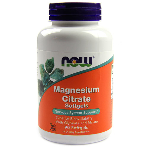 When to take magnesium citrate
