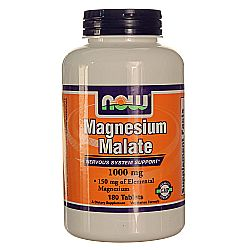 Now Foods Magnesium Malate 1000 mg