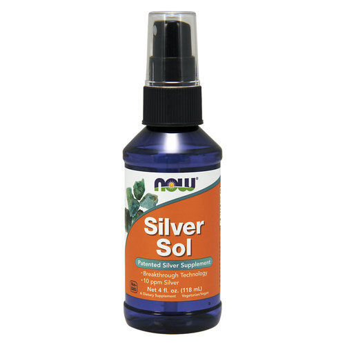 Now Foods Silver Sol  - 4 fl oz - 34060_front.jpg