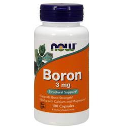 Now Foods Boron 3 mg