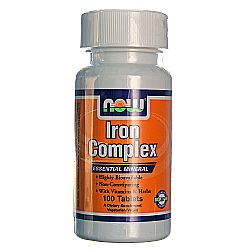 Now Foods Vegetarian Iron Complex