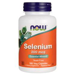 Now Foods Selenium 200 mcg Yeast-Free