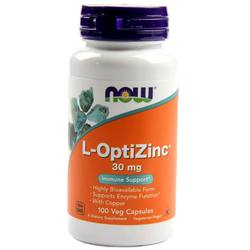 Now Foods L-OptiZinc 30 mg