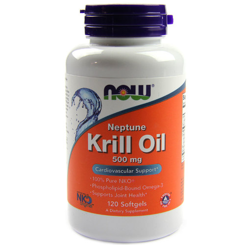 Now foods neptune krill oil 500 mg 120 softgels for Krill or fish oil