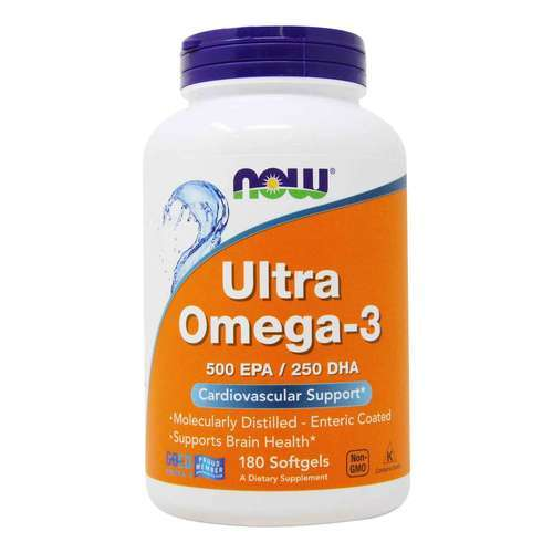 Now Foods Ultra Omega 3 750 mg - 180 Gel suave - 34102_front2020.jpg