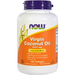 Now Foods Virgin Coconut Oil 1000 mg