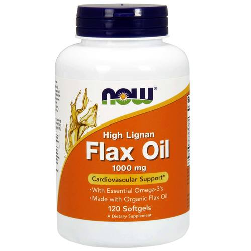 Now Foods Flax Oil  - 120 Softgels