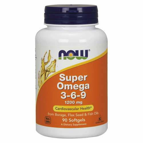 Now Foods, Super Omega 3-6-9 - 1200 mg - 90 Cápsulas em Gel - 34137_front.jpg