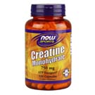 Now Foods Creatina Monohidrato 750 mg 120 Cápsulas