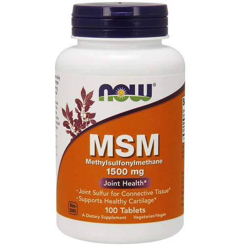 Now Foods MSM 1500 mg - 100 Tabletten - 34177.jpg