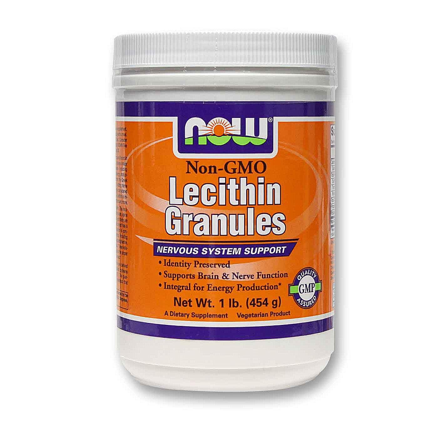 Granular lecithin