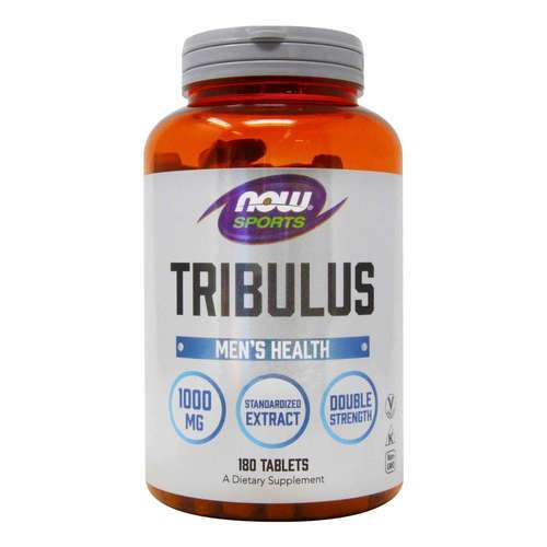 Now Foods Tribulus Τριβόλη 1000 mg 180 Ταμπλέτες - 34223_front2020_good.jpg