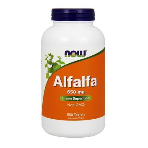Now Foods Alfalfa – 650 mg – 500 Tablets