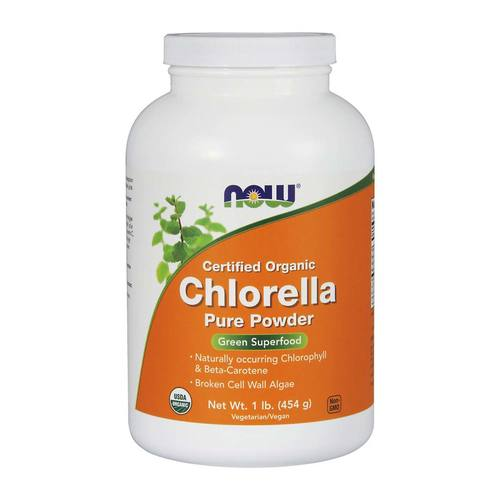 Now Foods Organic Chlorella Powder  - 16 oz - 733739026385_0.jpg