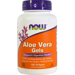Now Foods Aloe Vera 10,000 mg Equivalency