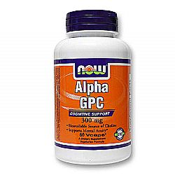 Now Foods Alpha GPC 300 mg