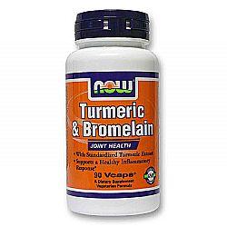 Now Foods Turmeric and Bromelain