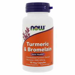 Now Foods Turmeric and Bromelain