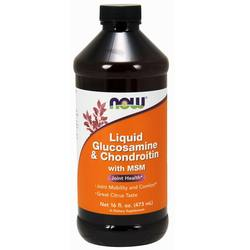 Now Foods Liquid Glucosamine and Chondroitin with MSM