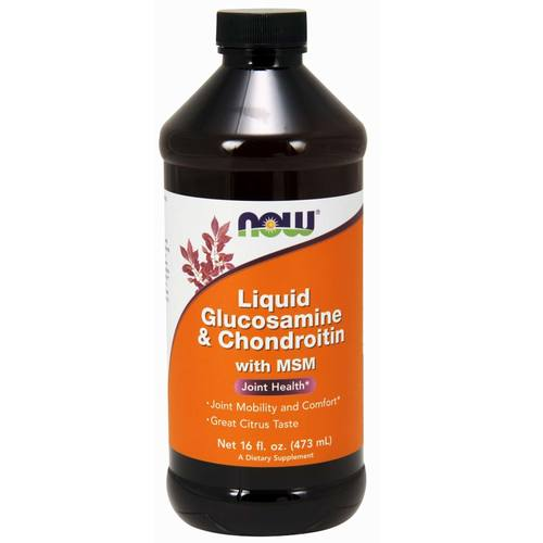 Liquid Glucosamine and Chondroitin with MSM
