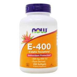 Now Foods Vitamin E d-alpha Tocopheryl