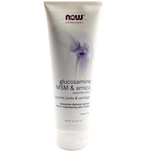Glucosamine, MSM and Arnica Liposome Lotion
