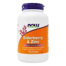 Now Foods Elderberry and Zinc