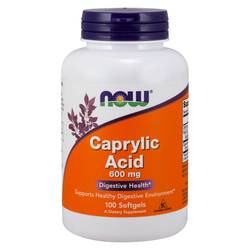 Now Foods Caprylic Acid 600 mg