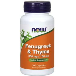Now Foods Fenugreek and Thyme