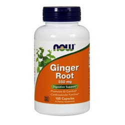 Now Foods Ginger Root 550 mg