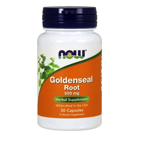 Now Foods Goldenseal Root - 50 Капсулы