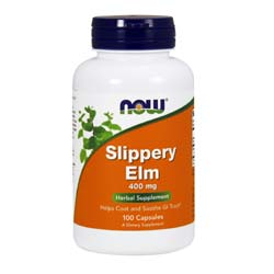 Now Foods Slippery Elm 400 mg
