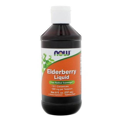 Now Foods Elderberry Liquid - 8 fl oz (237 ml) - 34469_front2020.jpg
